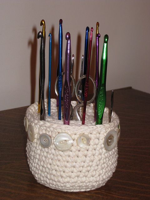 Ravelry Project Gallery For Crochet Hook Caddy Pattern By