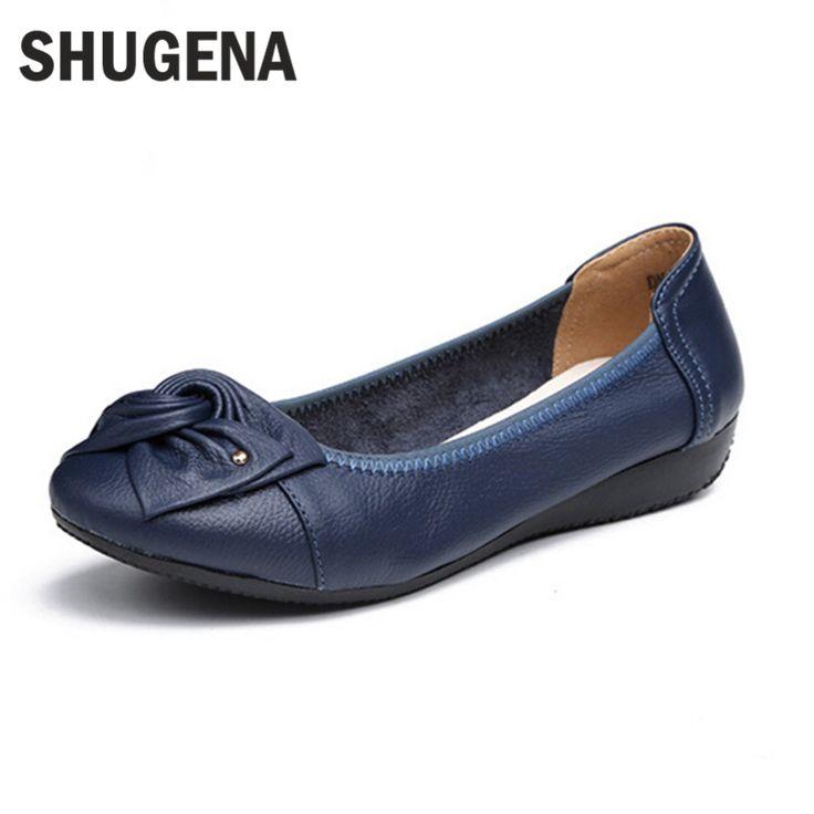 اليدوية والجلود أحذية الباليه الأحذية المسطحة النساء الإناث عارضة المرأة الشقق أحذية الانزلاق على جلد السيارات التصميم شقة الأحذية