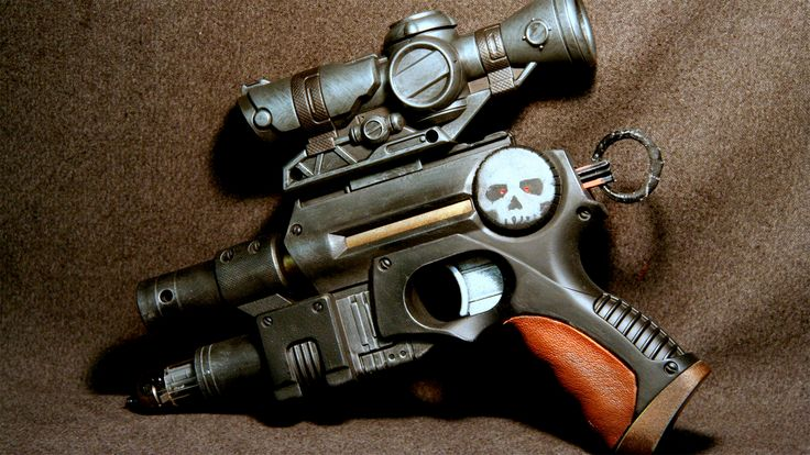 Brian Johnson of Johnson Arms shares his favorite Nerf guys to transform into awesome sci-fi props.
