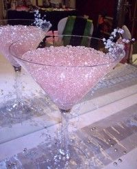 Martini Glass Centerpieces For Weddings   Martini Glass Wedding Centerpieces 4   WeddingGirl.ca