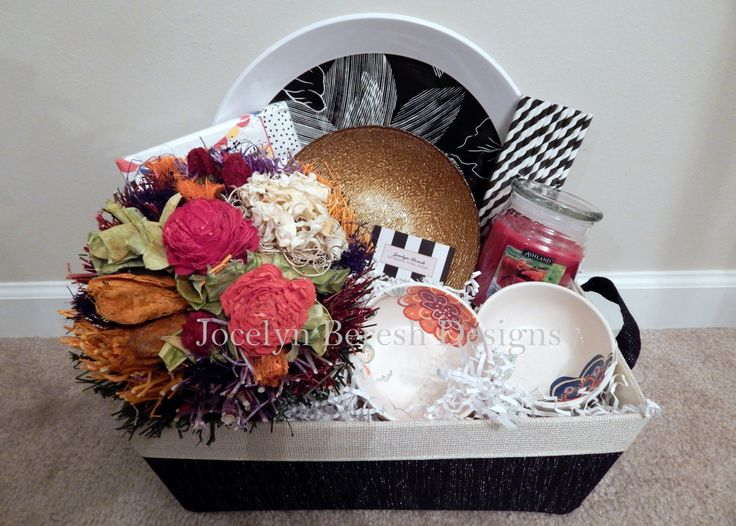 "Expensive Gift Ideas: ""Just Add Sangria Basket"" By #JocelynBereshDesigns. Check"