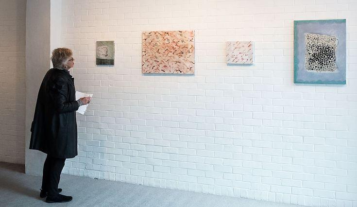 Adrienne Vaughan paintings. 16 August - 11 September 2014 (Image courtesy Sait Akkirman, Artsdiary)