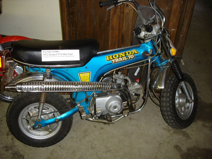 98 best vintage minibikes images on pinterest trail cycling my first honda trail 70 sciox Image collections