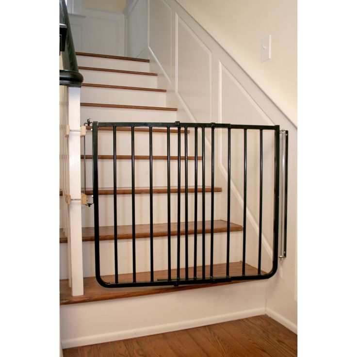 These Aluminum Child Gates For Stairs Will Help Ensure Your Child And Pets  Are Kept Out