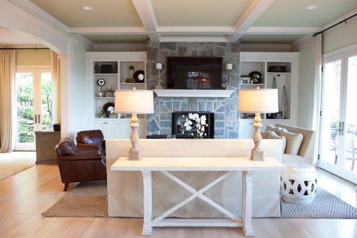 Fireplace Ideas Ideas Rustic Living Room Interior