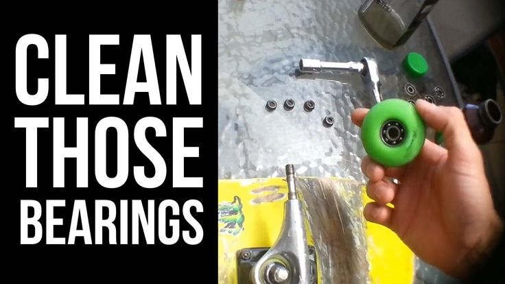 How to clean your Skateboard Bearings the easy way