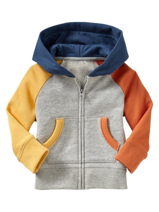 Gap | Colorblock raglan hoodie
