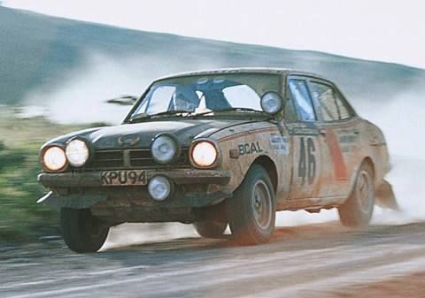 ra Mitsubishi Lancer. Joginder Singh-Kenya 1975. Kenya's Joginda Singh. Won 3 Safari Rallys out of 22 starts and 19 finishes - RIP.