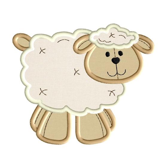 Fluffy Lamb 1 Applique