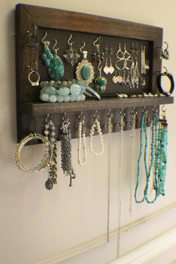 Hey, I found this really awesome Etsy listing at https://www.etsy.com/listing/186334803/kona-stained-wall-mounted-jewelry