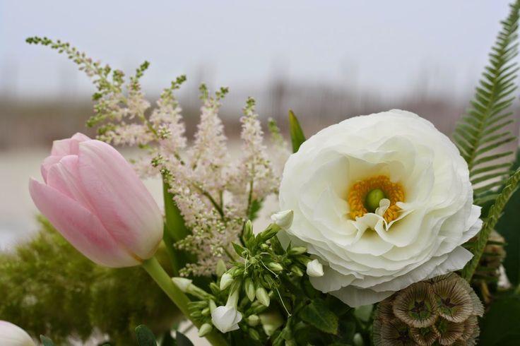 Tracey Reynolds Floral Design: Bohemian Beach Wedding Seashell Resort and Beach Club LBI