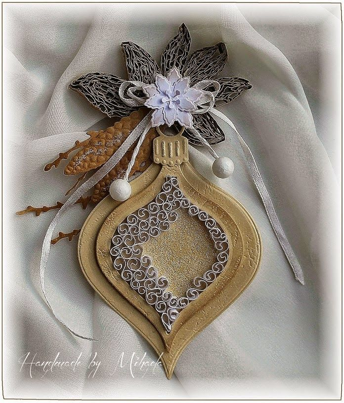 273 best images about quilling christmas ideas on pinterest for Decoration quilling