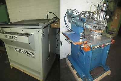 Silk Screen Printing Machine Manufacturing Equipment Package Complete Setup