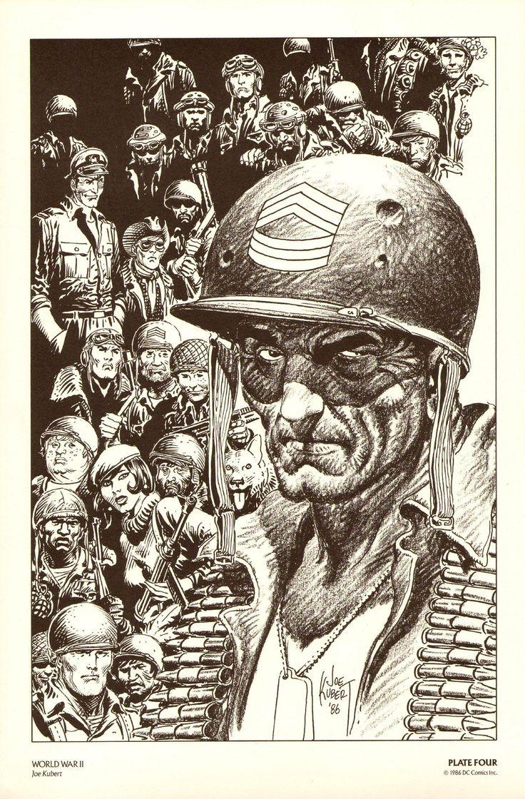 Joe Kubert #rip #comics #art