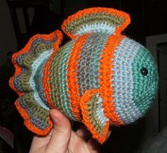 Fish amigimuri crochet pattern