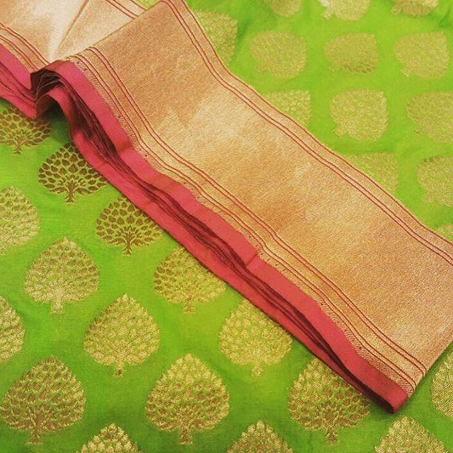 There is beauty in simplicity...says this elegant pistachio green handloom saree. An ode to simplicity, with love from Banaras. #elegance #simplicity #timeless #tilfi #varanasi #varanasiweaves #banarasi #banarasisilk #benares #reinventbanaras #sareelove #SaveTheSari #100sareepact #slowfashion #handloom #handwoven #handmadeluxury #indianweaves #madeinindia #trousseau #pistachio #zari