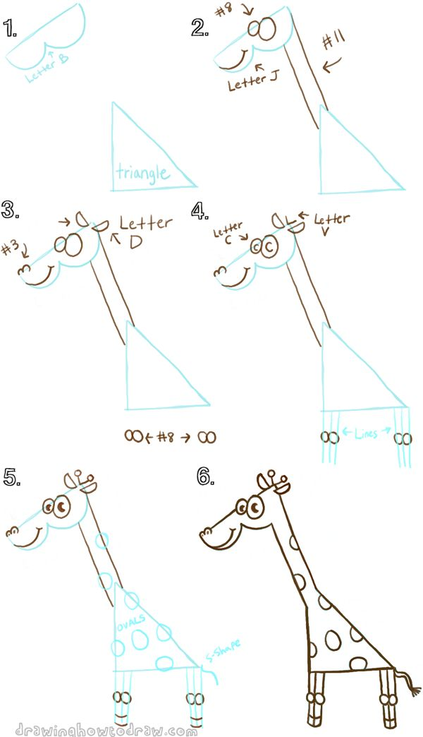 17 best ideas about cartoon giraffe on pinterest baby for Giraffe draw something