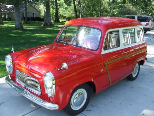 1957 Ford Squire Wagon Maintenance/restoration of old/vintage vehicles: the material for new cogs/casters/gears/pads could be cast polyamide which I (Cast polyamide) can produce. My contact: tatjana.alic@windowslive.com