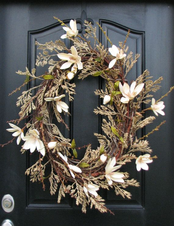 Hey, I found this really awesome Etsy listing at https://www.etsy.com/listing/72740735/xl-year-round-wreaths-champagne-casa