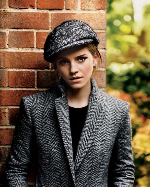 Emma (by alasdair mclellan)Hats, Fashion Style, Emmawatson, Emma Watson, Magazines, Photos Shoots, Fall Fashion, Fashion Fall, New York Times