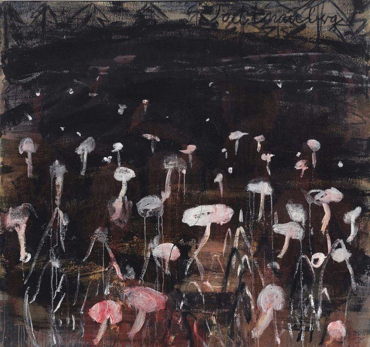 Anselm Kiefer (German, b. 1945), Todtnauberg, 1980. Oil on canvas, 154.9 x 165.1 cm.
