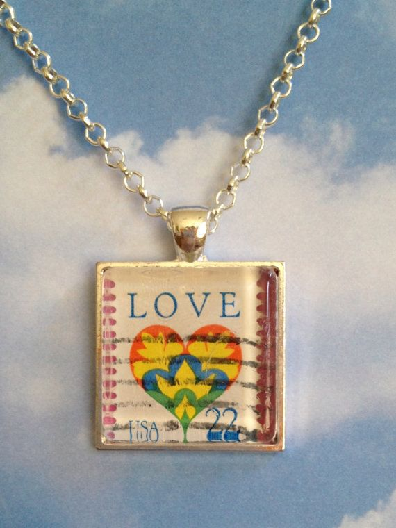 Bridal Love Heart Stamp Pendant Necklace by joytoyou41 on Etsy, $20.00: Pendant Necklace, Pendants Necklaces, Stamps Pendants, Heart Stamps, Love Heart, Bridal Jewelry, Fun Jewelry