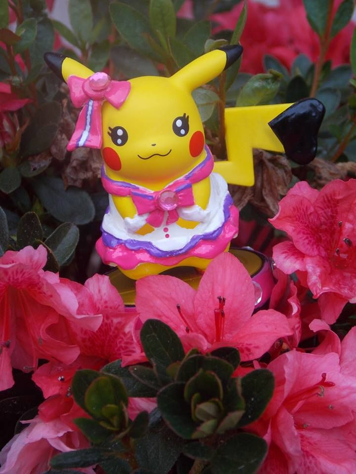 Pop Star Pikachu Amiibo Custom by pikabellechu on DeviantArt