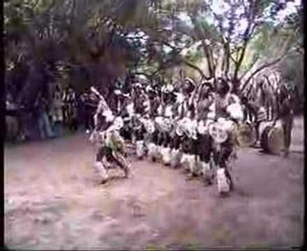 Authentic Zulu Dance - we saw a Zulu group at the Mine Dances in Joburg and it was amazing.  The men were so huge and strong, no wonder the Zulus are known for being strong warriors.  Definitely worth the time to attend the mine dances.  This is the closest I have found.