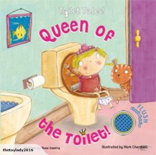 Toilet Tales - Queen of the Toilet for Girls  Parents struggling with potty training, don't fret a moment longer.