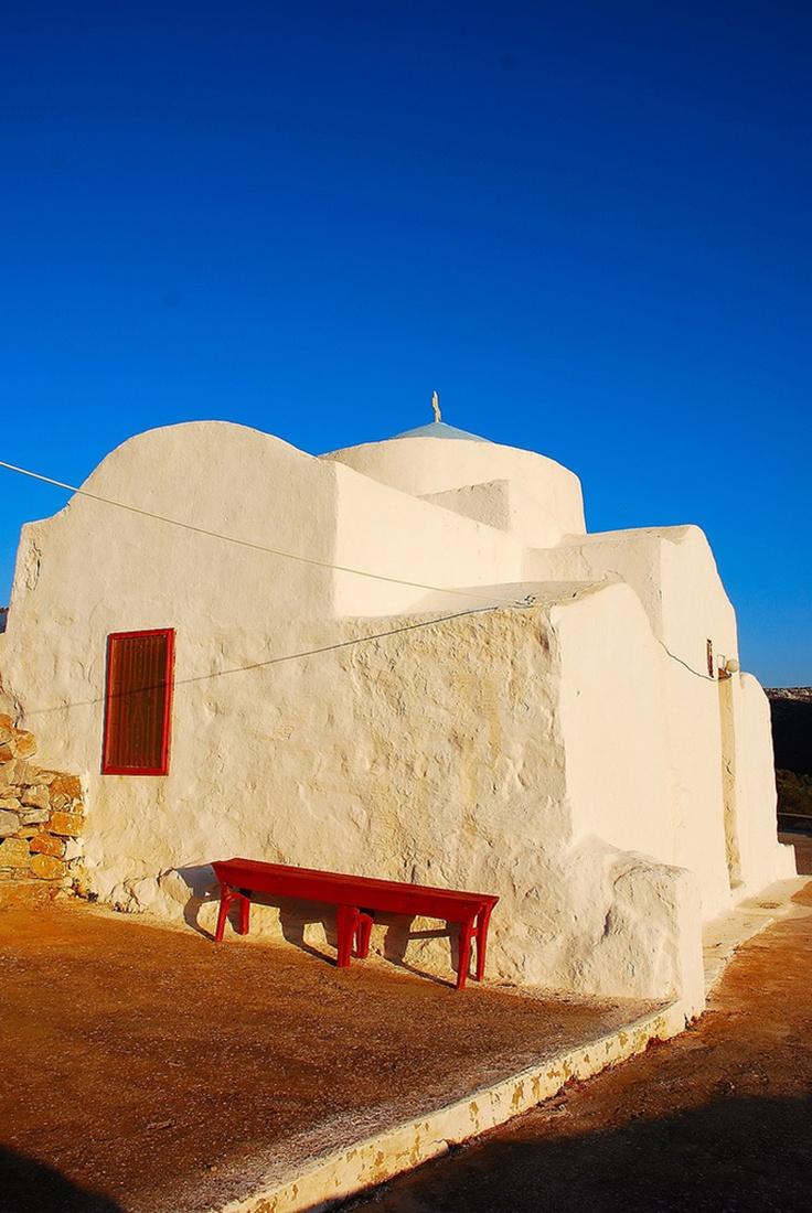 Beautiful chapel, Astypalea island ~ Greece