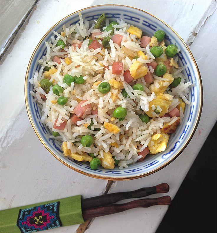 Ricetta Riso alla cantonese ingredienti per 4 persone preparazione ricetta originale cucina tipica cinese piatto tipico Cina