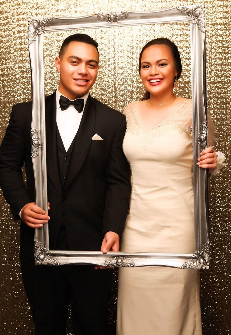 Auckland Girls Grammar Ball 2015. Stunning couple! www.whitedoor.co.nz