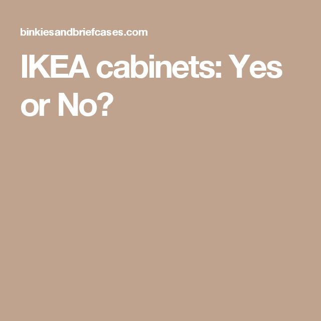 Ikea Cabinets Yes Or No: 25+ Best Ideas About Ikea Cabinets On Pinterest