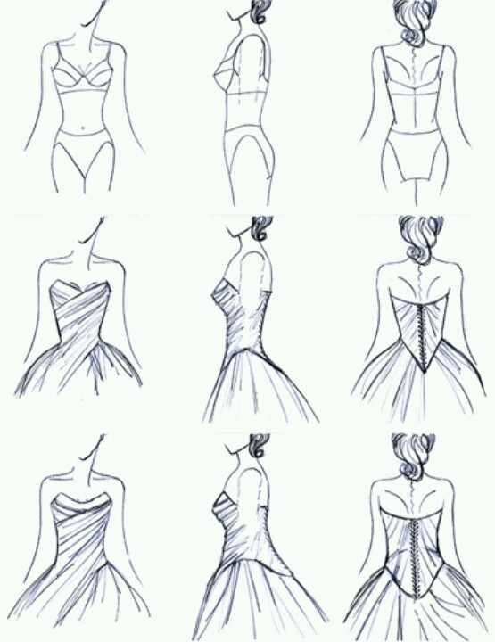 67 best Fashion sketches images on Pinterest Drawings, Fashion - fashion designer templates