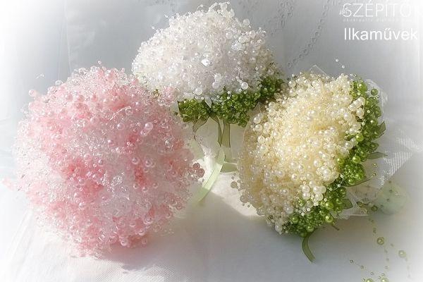 Romantikus, elegáns, tartós. Lenyűgöző gyöngyvirágok. Hogyan készül a különleges csokor?