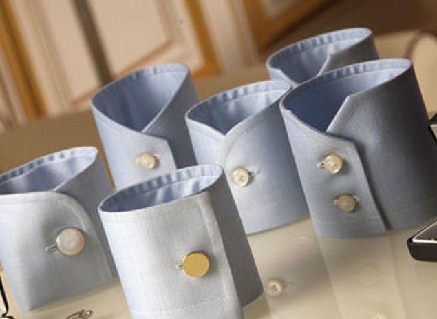 I modelli dei polsi della camicia: gemelli; smussato; dritto; doppio bottone; rotondo; doppia asola.Il blog del Marchese:blog di moda ed eleganza maschile