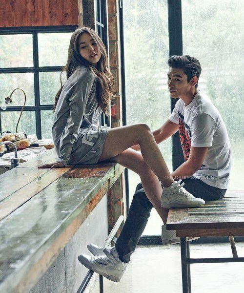 big bang top girlfriend kim ha yul - Google Search