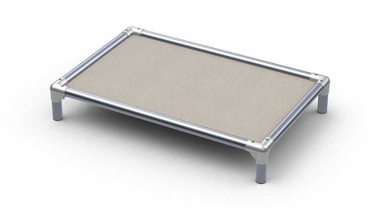 Beds 20744: Kuranda Outdoor All Metal Dog Bed - Open Weave Fabric - Birch -> BUY IT NOW ONLY: $105.0 on eBay!