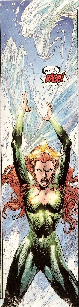 This pic of Mera is either from Brightest Day or Aquaman vol. 7. I have to check.