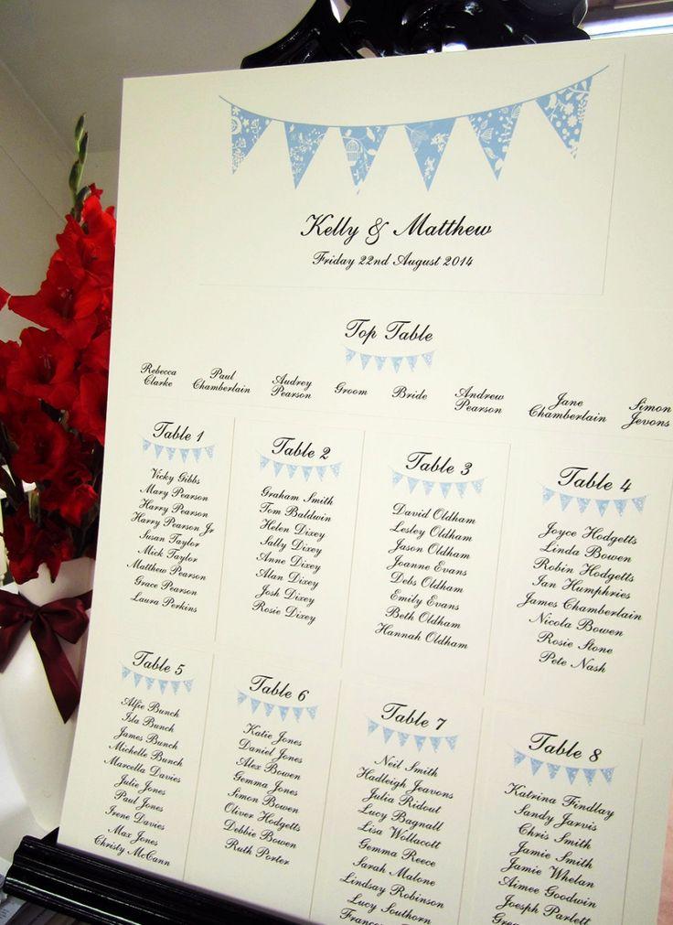 summer fete wedding invitations%0A Wedding Table Seating  Rustic Wedding Tables  Wedding Table Plans  Rustic  Table  Vintage Bunting  Seating Plans  Buntings  Wedding Stationery