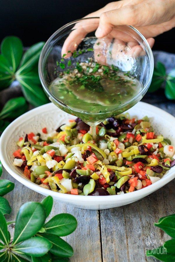 Olive Salad For Muffaletta