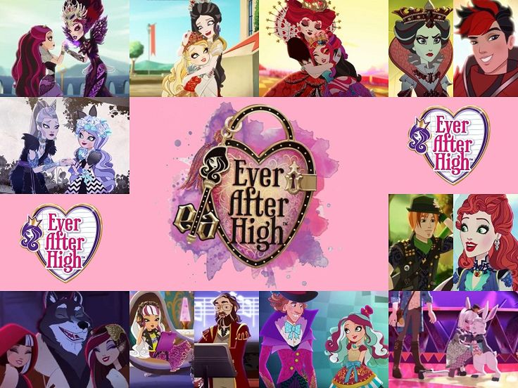 Katy Victoria — Ever After High Characters with their Parents ^_^...