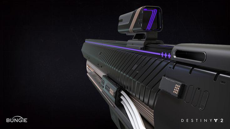 Destiny: The Taken King Hand Cannon E FP by David Stammel on ArtStation.