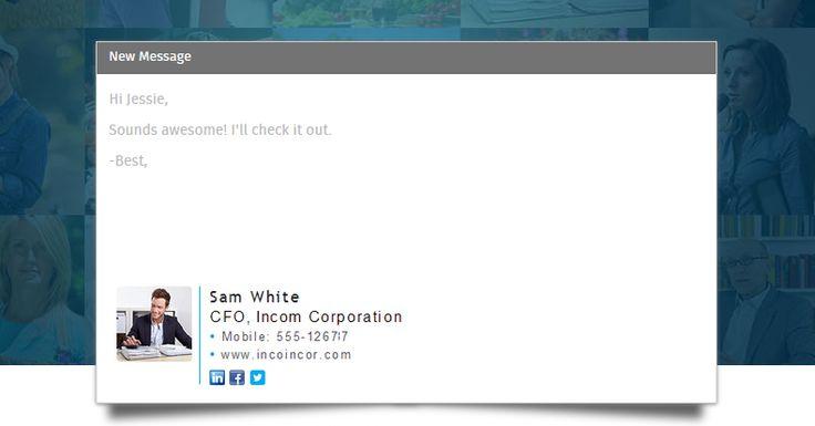 Tutorial: Aprenda a criar assinaturas de e-mails com o WiseStamp - http://www.showmetech.com.br/tutorial-aprenda-a-criar-assinaturas-de-e-mails-com-o-wisestamp/