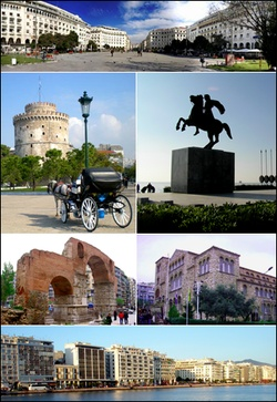 Thessaloniki, Greece. The second largest city in Greece. A port on the Mediterranean Sea. A city with amazing history.