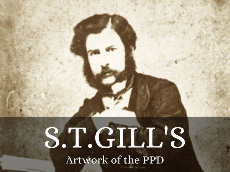 "Another story set free with @Melissa Hill Deck - ""S.T.Gill"" by sallyluane"