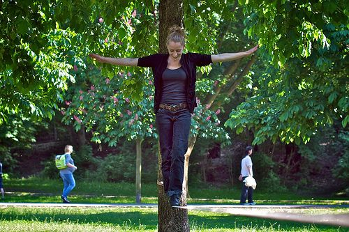 Yoga slacklining is a fun way to improve balance and strength. Learn everything you need to know to get started with this introduction guide to yoga slacklining. — Balance Training Forum