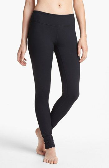 Zella 'Live In' Leggings | Nordstrom *Received these as a gift and I know I'll be using these as my go to legging for as long as they're sold! Sucks everything in, 87% polyester, 13% spandex. LOVE