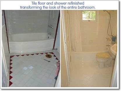 Refinish Bathroom Tile 30 best tile makeover images on pinterest | bathroom ideas