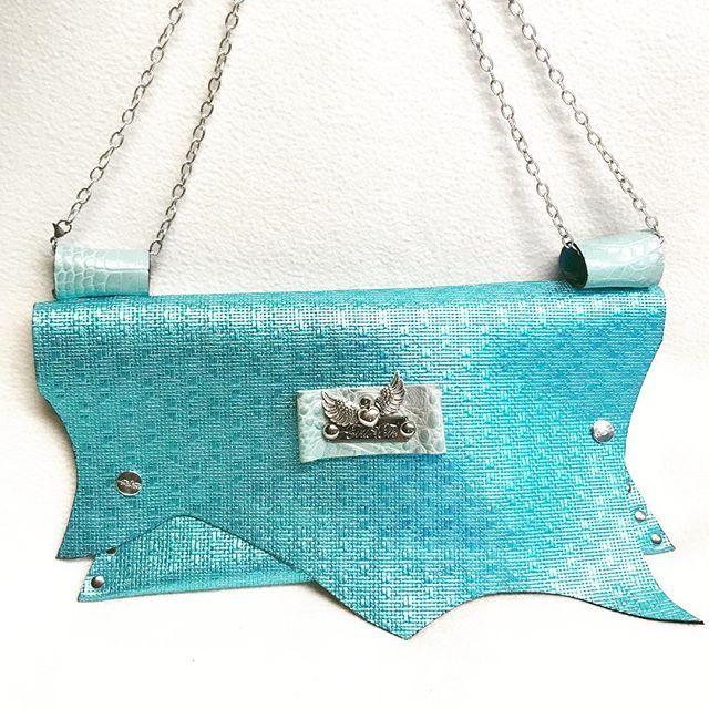 LoveSpell#evileve #evilevedesign #leather #leatherbag #clutch #picoftheday #ljubljana #fashioninsta